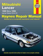 Mitsubishi Lancer Australian Automotive Repair Manual: 1990 to 1996 by J. H. Hay