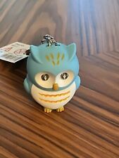 Cute Owl Keyring With LED Lights and Hooting Sound Novelty Key Chain Gifts Decor