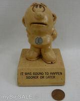 Paula Sillisculpt It Was Bound To Happen Figurine Metal Screw W113 Vintage 1969