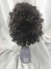 """14/15"""" Curly Dark Brown Doll Wig Reborn OOAK BJD Repair HEATHER (2)"""