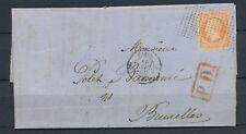 1860 Lettre N°16 Obl Roulette de points N°3420 Ind 18. SEINE PARIS(60). TB P2677