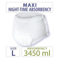 Large Tendercare-Nateen Maxi Night Absorbency Incontinence Pull Up Pants