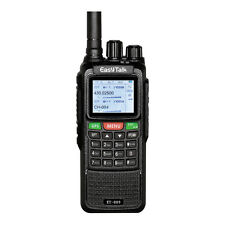 Walkie Talkie ET-889 10W GPS Dual Band VHF UHF Long Range VOX 2 Way Ham Radio