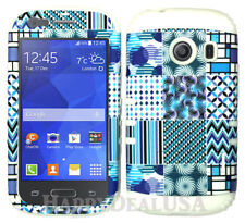 For Samsung Galaxy Ace Style S765c KoolKase Hybrid Cover Case - Tribal Blue 07