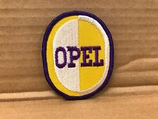 """ORIGINAL EMBROIDERED OPEL JACKET PATCH 2.5"""" X 3.5"""""""