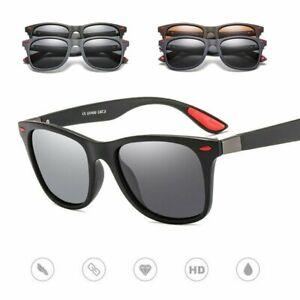 Sonnenbrille Damen Herren Polarisiert 100% UV400 Fahren Brillen Pilotenbrille DE