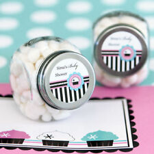 96 Cupcake Theme Baby Shower Birthday Party Personalized Candy Jars Favors Lot