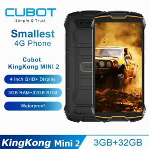 Cubot KingKong MINI2 Smartphone 3GB+32GB Handy Android 10 3000mAh 4G Dual-SIM DE