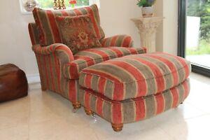 Duresta lansdowne armchair and run up howard shape RRP £2600