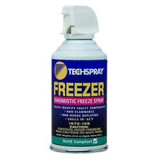 Techspray 1672-10S Freeze Spray 10 oz Aerosol Pure HFC-134A