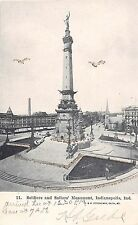 Indiana postcard Indianapolis Soldiers and Sailors Monument pre-1907
