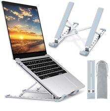 Portable Laptop Stand Cooling Desk Holder, 9-Levels Adjustable Notebook Riser ne