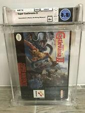 SNES Super Castlevania IV WATA 8.5 A+ Sealed Super Nintendo 1991 Classic Game