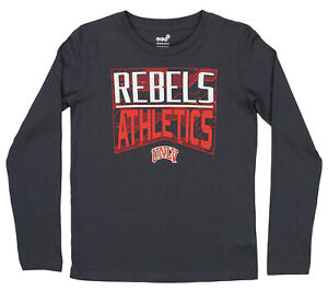 Outerstuff NCAA Youth (4-20) UNLV Rebels Performance Long Sleeve Energy Tee