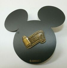 WDCC Disney Signature Scroll Film Strip Pin 285 on Mickey Ears Card