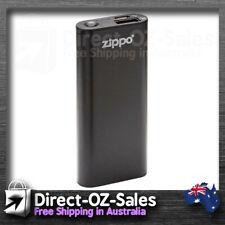 "Zippo ""Zipper & Insert"" Brushed Chrome Finish 0127 -- in Australia"