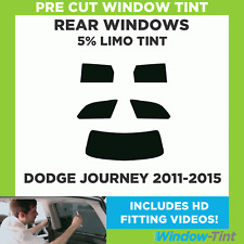 Pre Cut Window Tint - Dodge Journey 2011-2015 - 5% Limo Rear