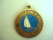MEDAILLE NAVIGATION VOILE REGATE STURGEON LAKE SAILING CLUB CANADA