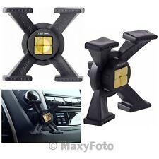 TETRAX ORIGINAL CAR SUPPORTO AUTO MAGNETICO XWAY DA BOCCHETTA AREAZIONE BLACK