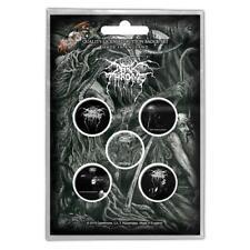 More details for official licensed - darkthrone - old star 5 badge pack black metal