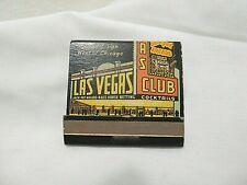 Vintage Las Vegas Club Matchbook Unstruck S5E