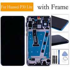 LCD Display Touch Screen Digitizer w/Frame&Tools Part For Huawei P30 Lite Repair