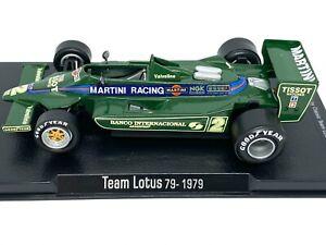 1:43 Scale Lotus 79 F1 Diecast Model - Carlos Reutemann 1979 Model F1 Race Car