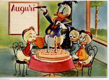 WALT DISNEY Paperino Qui Quo Qua PC Originale ITALY 1962 Donald Duck