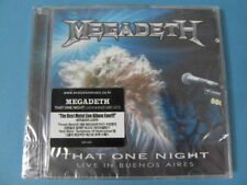 MEGADETH - THAT ONE NIGHT : LIVE IN BUENOS AIRES [2 CD] (SEALED)