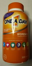 One A Day Women's Complete Multivitamin Multimineral Nutritional - 300 Tablets