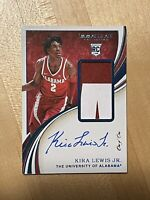 Kira Lewis Jr 2020 Immaculate Collegiate 1/1 RPA RC Rookie Auto Patch SP Rare 1