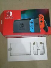 EMPTY REPLACEMENT BOX FOR NINTENDO SWITCH CONSOLE NEW VERSION,