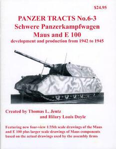 Panzer Tracts No.6-3 - Pz.Kpfw. Maus and E-100