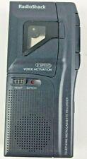 RadioShack 43-476 teléfono Microcasete Grabadora activación por voz de 2 velocidades