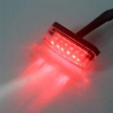 1pc Universal RED LED Rear Marker Brake Tail Light Motorcycle Street Bike Custom