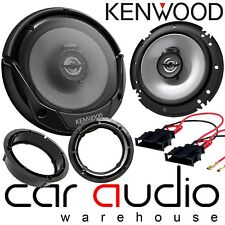 "Skoda Fabia 99-06 MK1 6Y 16cm 6.5"" Kenwood 600 Watts Front Door Car Speakers Kit"