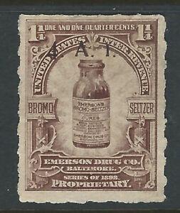 Bigjake: RS282, 1 1/4 cent Emerson Drug Co. - Match & Medicine