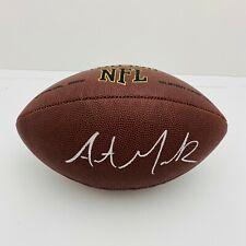 AUSTIN MACK NEW YORK GIANTS SIGNED NFL SUPERGRIP FOOTBALL (OSG COA)