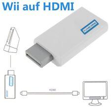 Wii auf HDMI Adapter Konverter Stick Upskaler 720p 1080p Full HD TV Audio GS08v&