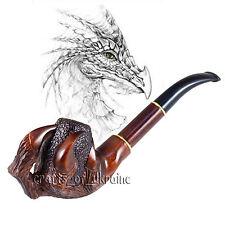 Luxus Tabakpfeife DRACHEN KLAUE aus Birnbaum Rauchpfeife Tabak Pfeife + Geschenk