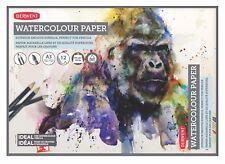 Derwent peinture à l'aquarelle Support de papier 12 feuilles 300 g/m² A3