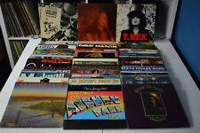 CLASSIC ROCK LOT #07 48 LPs GRATEFUL DEAD T-REX GRAND FUNK CANNED HEAT WLP DEVO