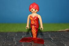 Playmobil Magic Mermaid Red/Orange Top Condition (70094)
