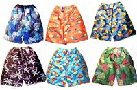Wholesale Lot of 23 Teen Boy's Lightweight Swimsuit Trunks Skateboarding Shorts
