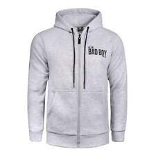 Bad Boy Crossover Hoodie Grey Size XXS