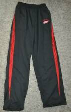 GUC-Mens Logo Athletic NHL Red Wings Hockey Black Lounge Pants-size S