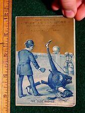 Anthropomorphic Ostrich, Bird, Tom Culp's Wide Awake Store, Alliance, Oh F34