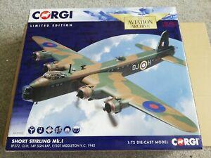 Corgi AA39502 Short Stirling MK. 1 BF372, OJ-H, 149 SQN RAF, F/SGT MIDDLETON V.