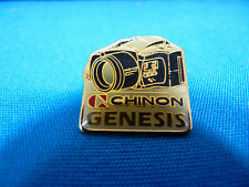 Rare Chinon Genesis Camera Official Corporate Logo Pin In Very Good Condition