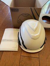 Msa V Gard H1 No Vent Safety Helmet White